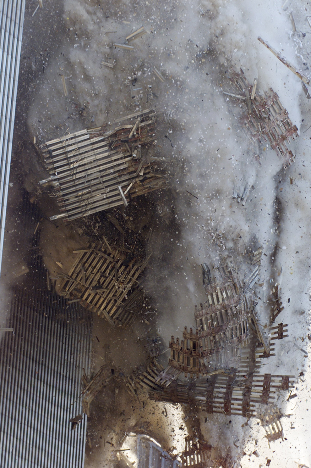 Stairway B Wtc North Tower : Lollitop remembering september th
