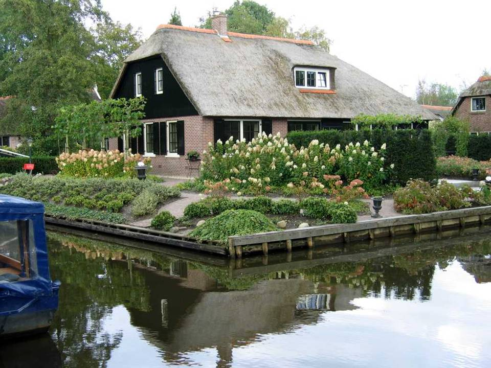 Lollitop Giethoorn Holland Village Without Streets