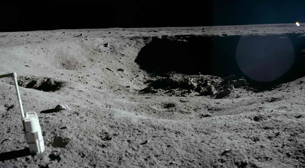 Lunar Reconnaissance Orbiter Apollo 11 - Pics about space